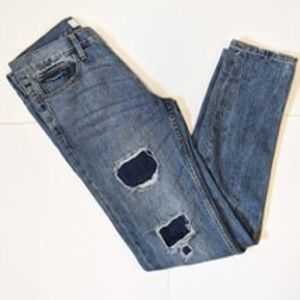 Forever 21 distressed slim fit jeans sz 31/32